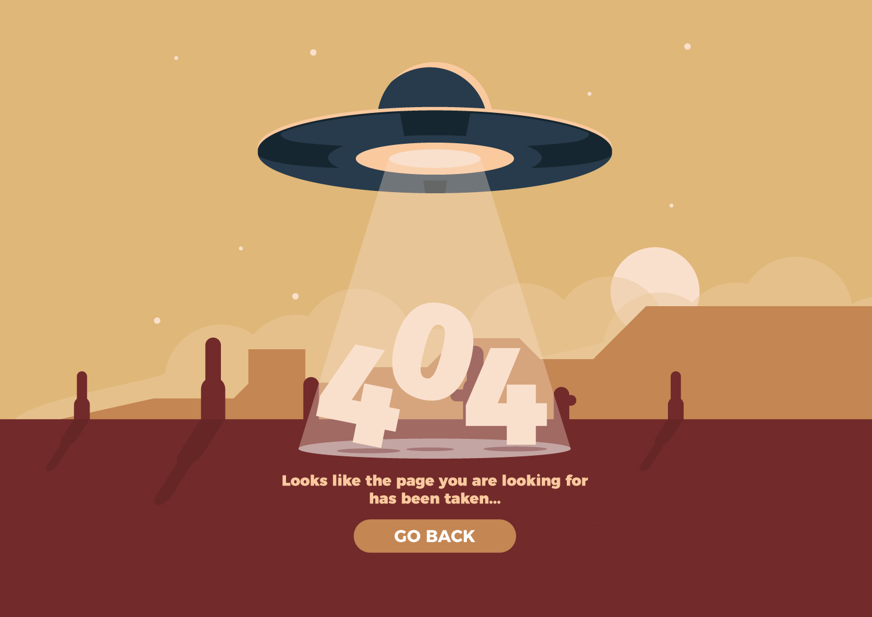 Creative 404 Website Design