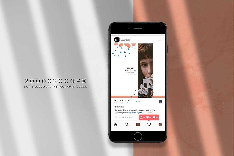 social media template design