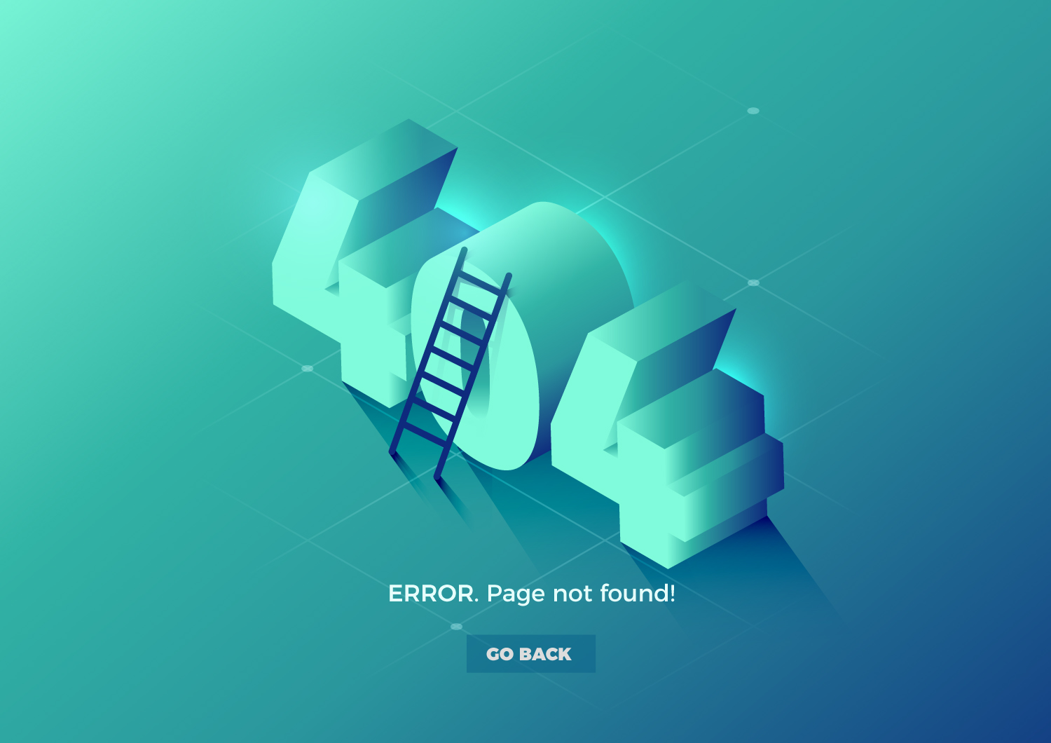 Creative 404 Website Design